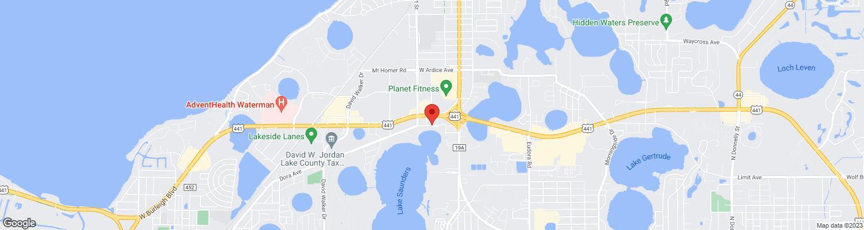Eustis Florida Map.Lake Saunders Drive Eustis Fl 32726