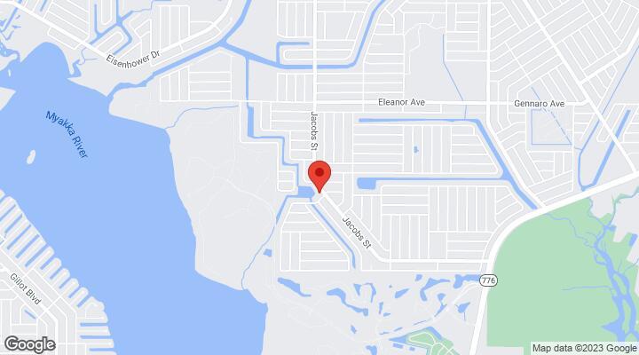 Street Map Port Charlotte Florida.2275 Jacobs Street Port Charlotte Fl 33953