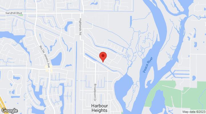 Map Of Punta Gorda Florida.Solomon Drive Punta Gorda Fl 33983