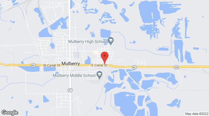 Mulberry Florida Map.0 11th Avenue Mulberry Fl 33860