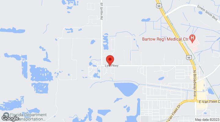 Bartow Florida Map.1615 Laurel Oaks Drive Bartow Fl 33830
