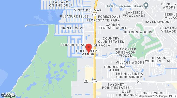Hudson Florida Map.12529 Us Highway 19 Hudson Fl 34667