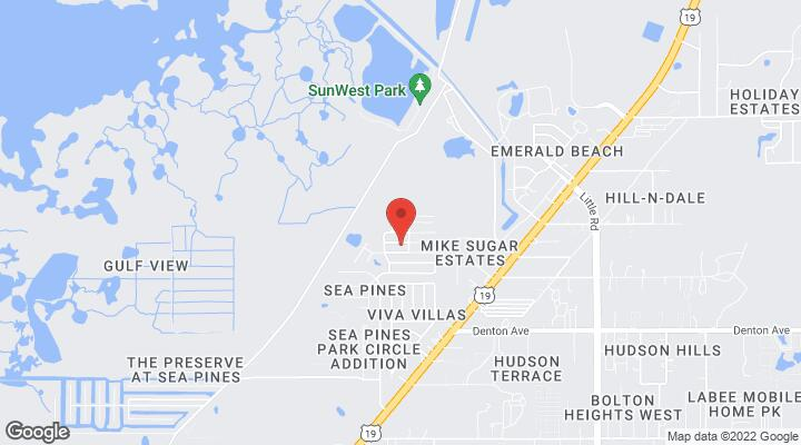 Hudson Florida Map.0 Jolly Roger Drive Hudson Fl 34667