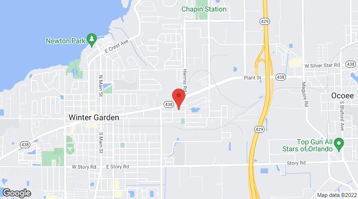 Winter Garden Florida Map.275 Center Street Winter Garden Fl 34787