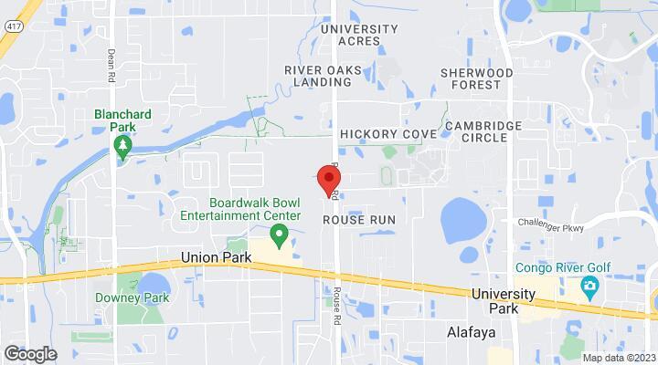 Road Map Of Florida.2128 Rouse Road Orlando Fl 32817