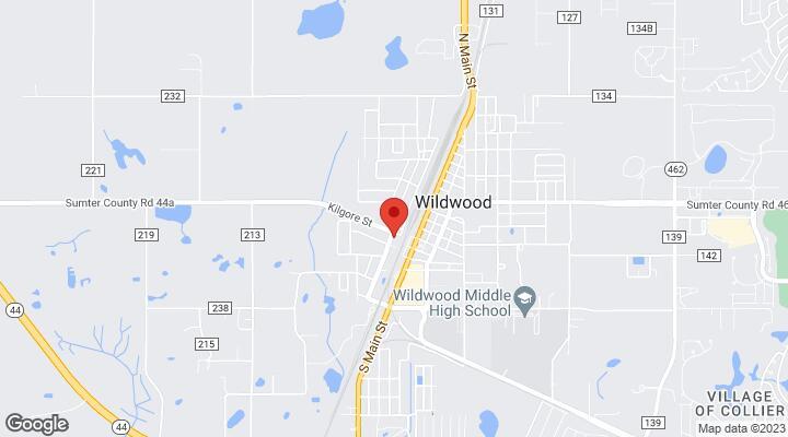 Wildwood Florida Map.102 114 Dr Martin Luther King Jr Avenue Wildwood Fl 34785